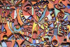 mosaic on Aghmashenebeli street