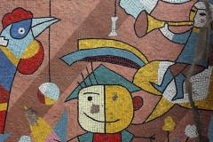 Mosaic in kindergarten #1