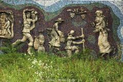 WWII memorial in Chokhatauri