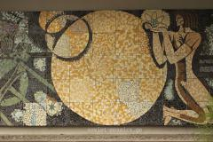 mosaic in Didube Exhibition Park