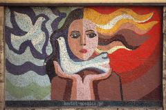 მოზაიკა ჭყონდიდელის ქუჩაზე