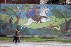 ქართული მოზაიკა გულუას ქუჩაზე