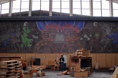 """მოზაიკა """"პრომეთე"""" ეროვნულ სამეცნიერო ბიბლიოთეკაში"""