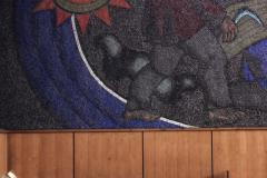 "mosaic ""Prometheus"" in National Scientific Library"