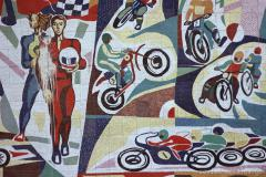 mosaic near Rustavi International Motopark